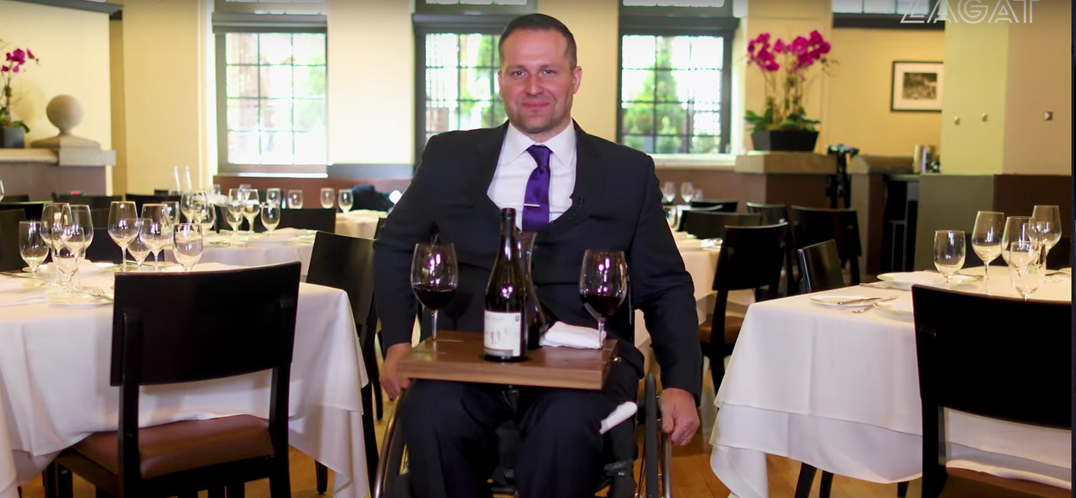 The Sommelier Who Fights for the Rights of the Disabled
